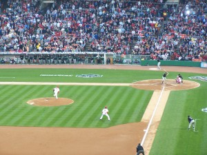 First Pitch at RFK Stadium, 2005