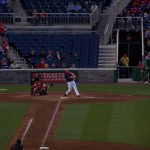 Zim's single in the first inning